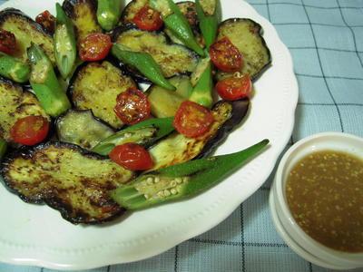 夏野菜のグリル