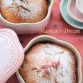 【レシピ】桜あんのケーキ 桜から新緑の季節へ。 by ママンレーヌさん
