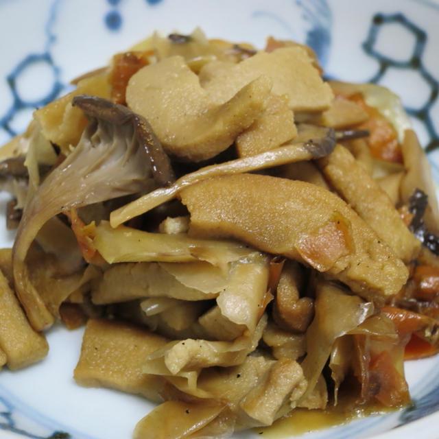 No.017 高野豆腐と野菜のエコうま煮