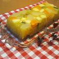 二層のゼリーケーキ