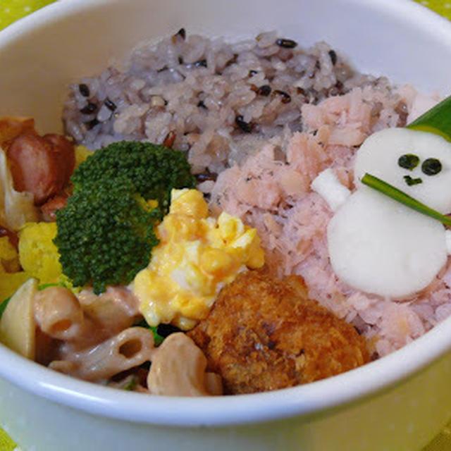 中学生、和彰のお弁当 -127-