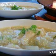 鶏ささみと白菜のトロトロスープ♪ 風邪気味の時に^^