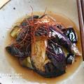 【レシピ・作り置き・副菜・お弁当おかず】油の後片付けはしないのに、油で揚げたようななすの酢醤油漬け