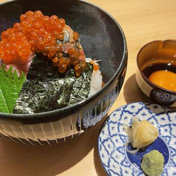 個室割烹 寿司北大路 品川店/平日限定ランチ海鮮丼!
