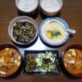 【家ごはん/献立】 麦とろご飯と ナスの甘辛煮 [レシピ]