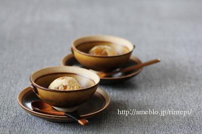 梅酒ジャムのアイスクリーム レシピブログ連載