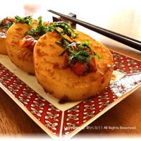 【モニターレシピ】大根のガーリックステーキ