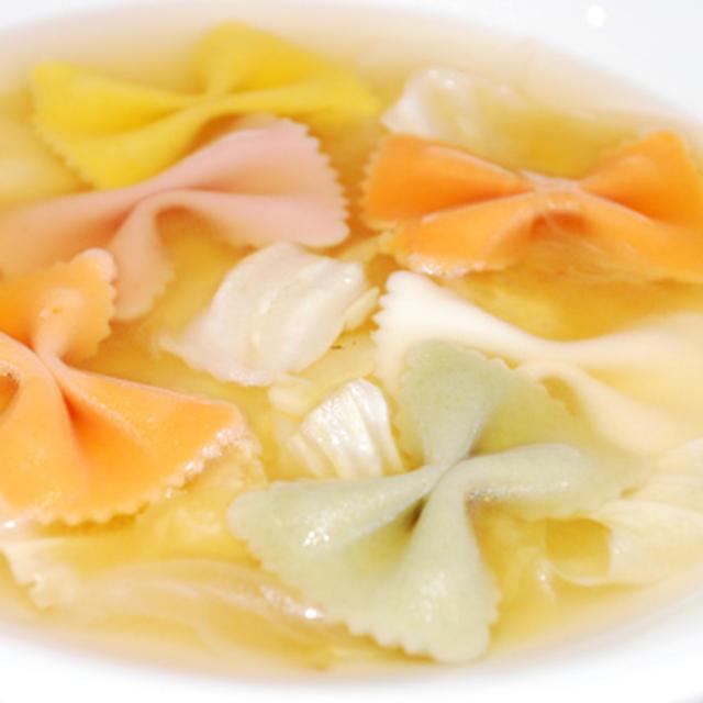 ファルファッレとキャベツのスープ