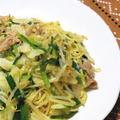 夏にさっぱり、スパイシー!野菜たっぷりピリ辛焼そば。 by akkiさん