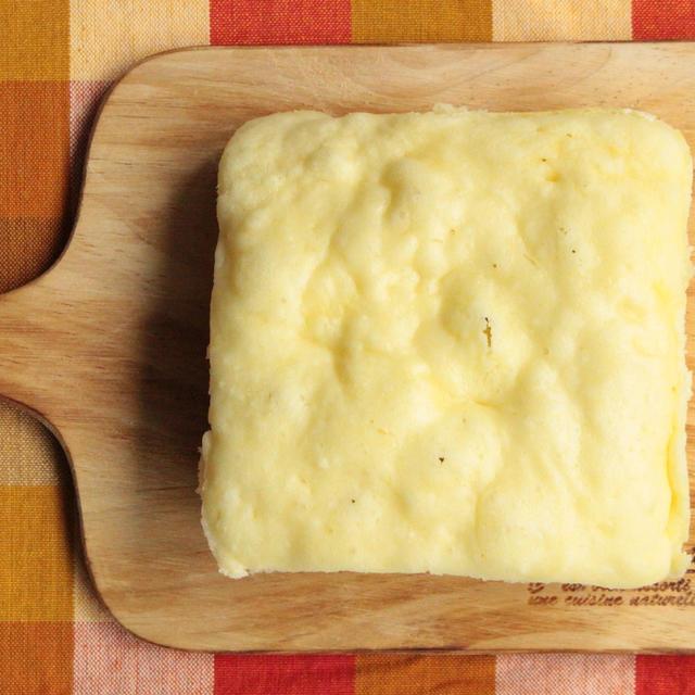 レンジで簡単卵なしレシピ。ほくほくチーズコーン蒸しパンの作り方