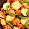 チキンとポテトのオーブン焼き ローズマリー風味