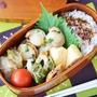 今週作った姉さん弁当(3つ)と、電子レンジで作る「ちくわとピーマンのめんつゆマヨ炒め」のレシピ。