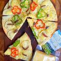 簡単 コンテチーズとアンチョビのシンプルピザ