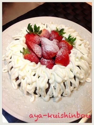 かんたんチョコレートケーキ