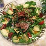 スタミナ満点 焼肉サラダ