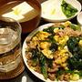 ほうれん草と卵と豚肉は黄金のとり合わせ。「ポパイ炒め」