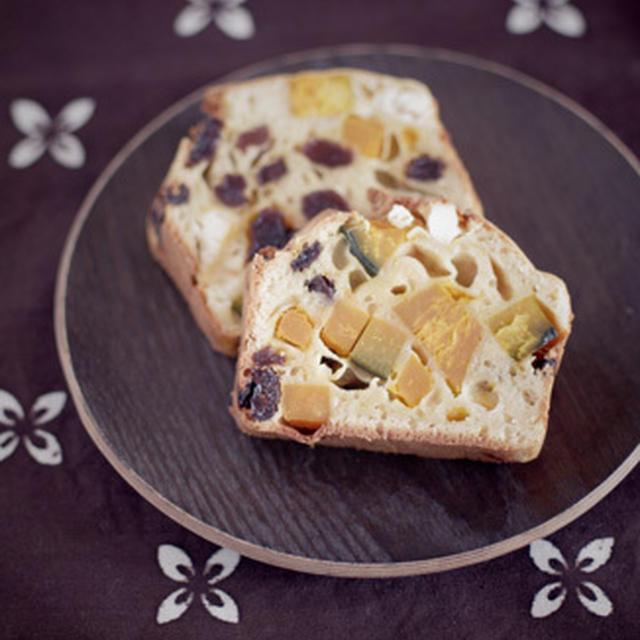クリームチーズ&かぼちゃのケーク・サレ