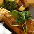 甘辛タレ&タルタルで、イワシの蒲焼