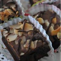 もち粉のチョコレート菓子