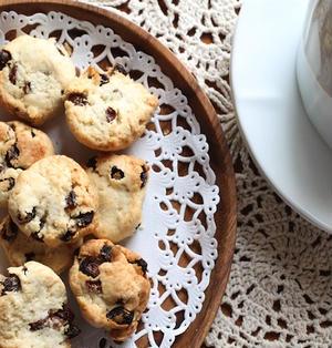ココナッツとレーズンのクッキー