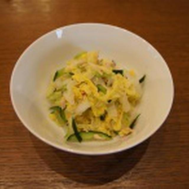 白菜のサラダ~ガーリック風味~