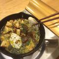 牡蠣とキノコのアヒージョ by もこさん