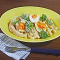 もっちり、うまみ濃厚!卵とブロッコリーの明太子マヨマカロニ by KOICHIさん