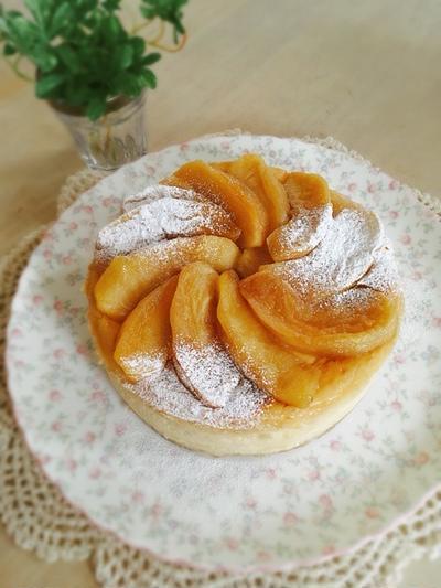 林檎のキャラメリゼ*ニューヨークチーズケーキ*