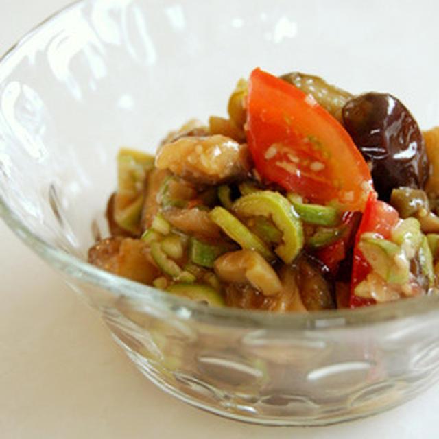 オクラの中華風サラダ