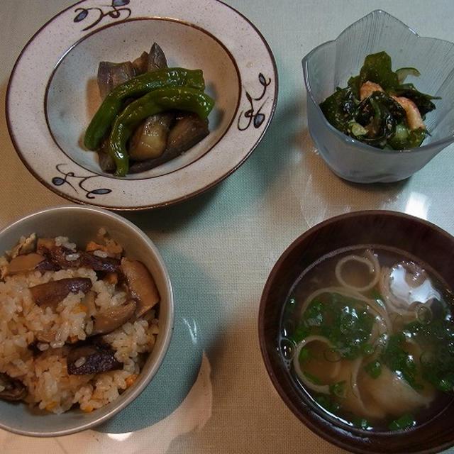 季節先取り 松茸ご飯