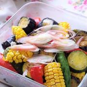 常備菜に。夏野菜の揚げ浸し
