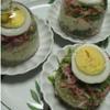 赤蕪水菜サラダとポテトのドームサラダ