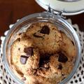 ルヴァンでチョコとココナッツのクッキー