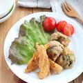 お弁当やおつまみに♪パプリカとブロッコリーの全粒粉フリット by kaana57さん