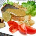 秋の味覚を堪能!『秋鮭のムニエル 海苔マヨソース』新感覚レシピ♪