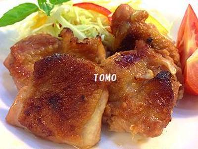 甘辛ガーリック!鶏モモ肉のケチャップ焼き