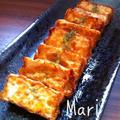 うまうま♡ガーリックバター醤油♡カリッとじゅわ〜っと厚揚げ by Mariさん