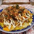 昭和天ぷら粉黄金で作るお好み焼き