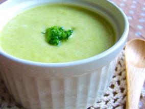 カプチーノ風♪春キャベツのふわふわスープ