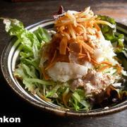 【簡単!!】豚しゃぶとキャベツのパリパリサラダ