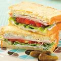 水切りヨーグルトで作るギロス風サンドイッチのレシピ/作り方