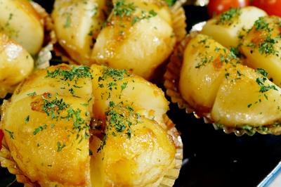 【新じゃがで 甘辛ジャガバター】シャトルシェフ調理で仕上げはトースターで簡単