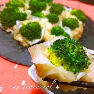 ダイエット効果の♪ブロッコリー焼しゅうまい♡レシピ
