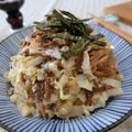 5分おかず☆ 白菜とさば味噌煮マヨ和え