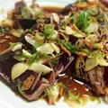 はらペコリさんの白い麻婆豆腐&お陰様で手抜きの鰹のたたき by maya缶さん