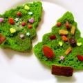 楽天レシピのPickupレシピコーナー掲載報告♪ホットケーキで簡単!クリスマスツリー♪