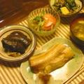 茄子!ズッキーニ!でお腹いっぱいの晩ごはん(´∀`)