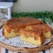 紅玉タルトタタン風ケーキ