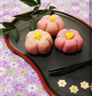* レンジで簡単 ❤ 和菓子・ねりきり♪