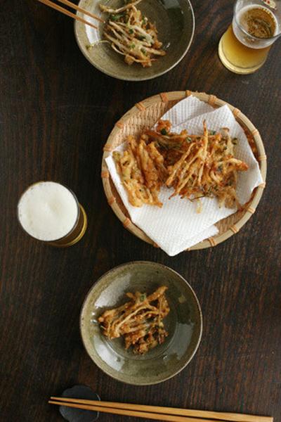 <ひかり味噌レシピ・夏>もやしの味噌天ぷら